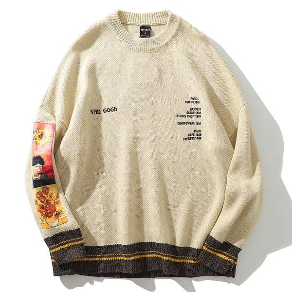 """Thinker"" Van Gogh Sweater - Maener"