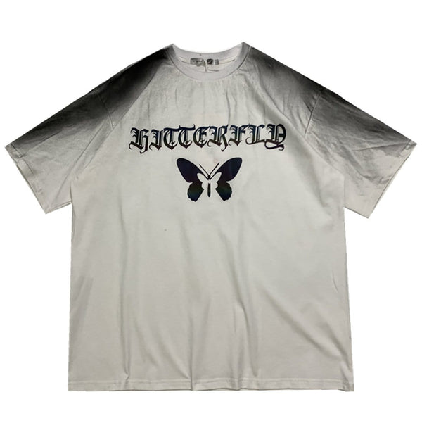 """Unique Reflective Butterfly"" T-shirt - Maener"
