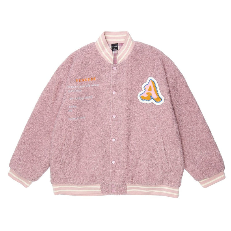 """A and F"" Lambswool Jacket - Maener"