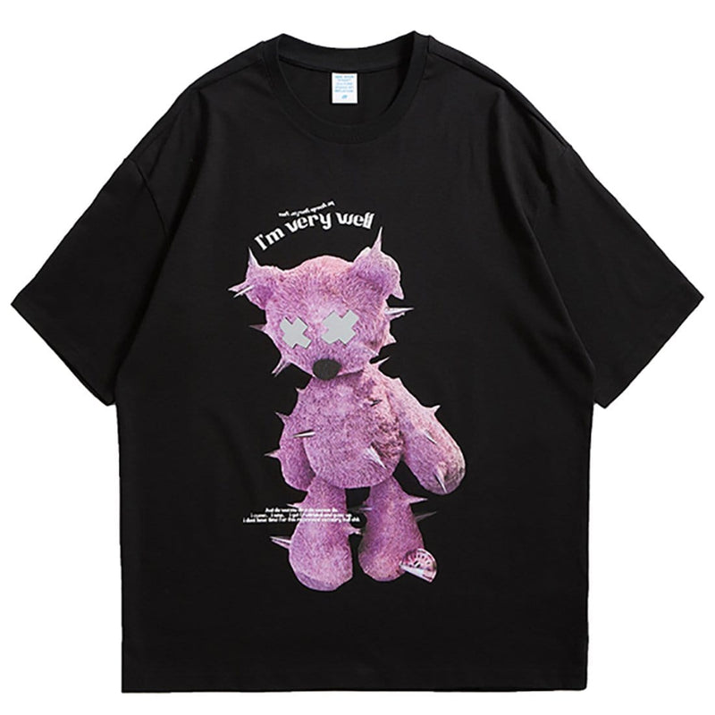 """Purple Bear"" T-shirt - Maener"