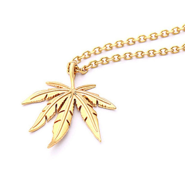 """Maple Leaf"" Necklace - Maener"