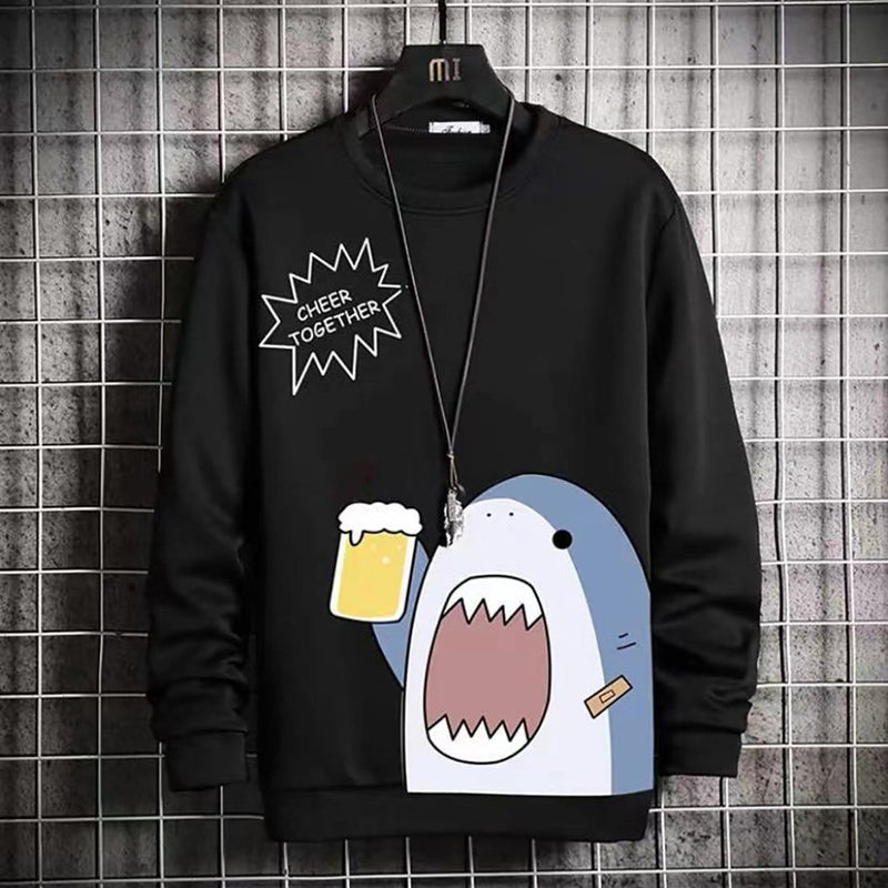 """Fun Shark"" Sweatshirt - Maener"