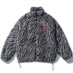"""Stripe Trap"" Lambswool Jacket - Maener"