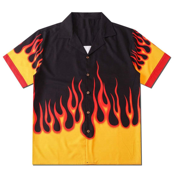 """Anger"" Flame Shirt - Maener"