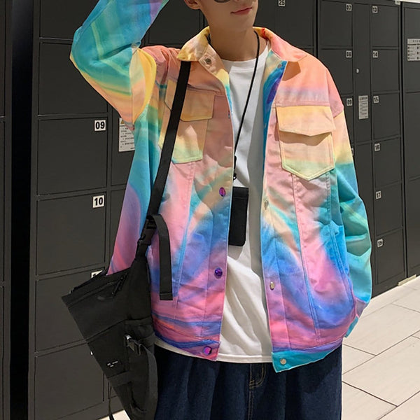 """Colorful"" Outerwear Jacket - Maener"