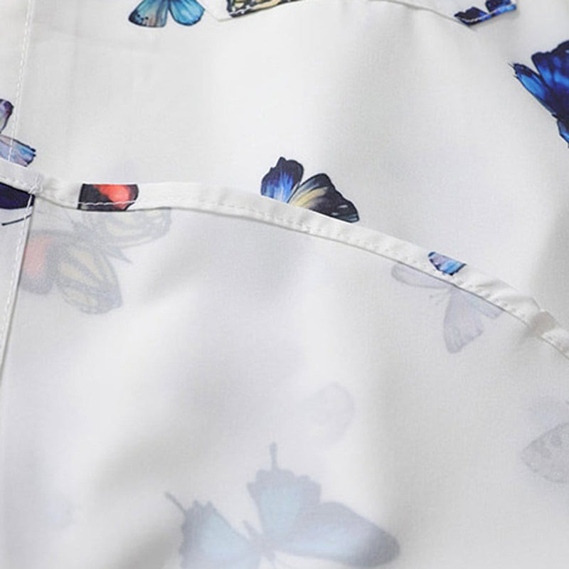 """Small Butterfly"" Long-Sleeve Shirts - Maener"
