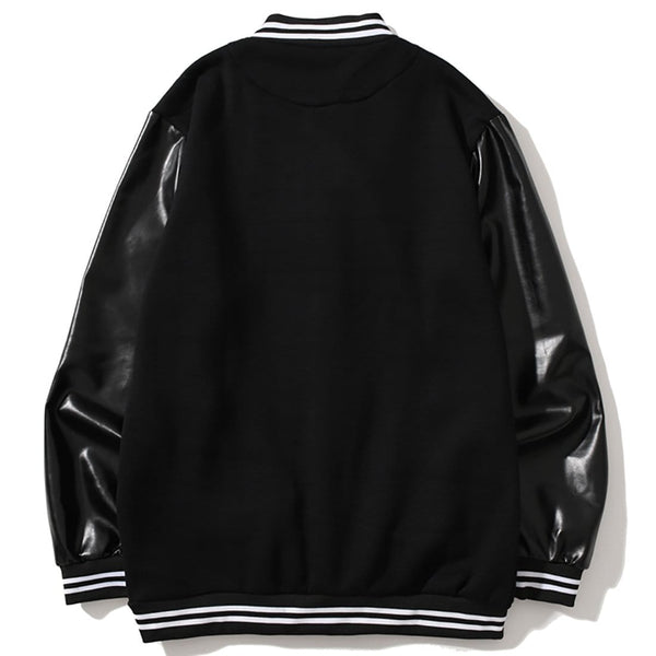 """Badge"" Varsity Jacket - Maener"