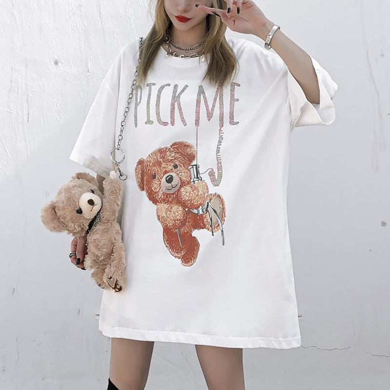 """Clip Doll Bear"" T-Shirt - Maener"