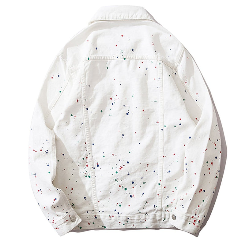 """Candy Snow""  Denim Jacket - Maener"