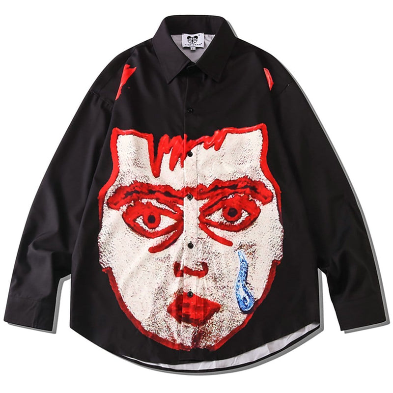 """Facial Paralysis Boy"" Long-Sleeve Shirts - Maener"