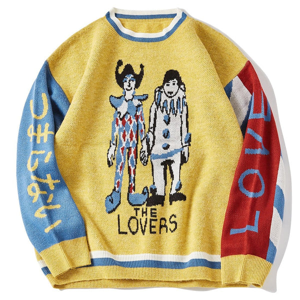 """Clown Performance"" Sweater - Maener"