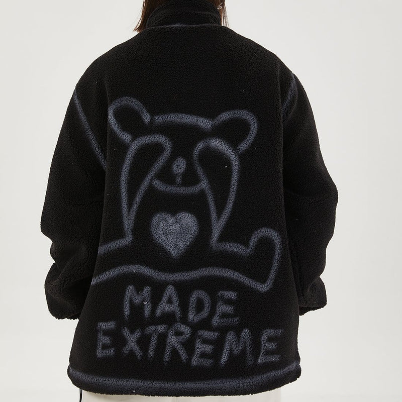 """Shy Bear"" Lambswool Jacket - Maener"