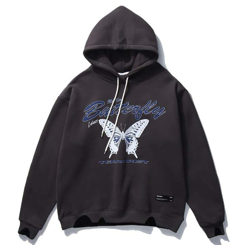 """Ice Butterfly"" Sweatshirt Hoodies - Maener"
