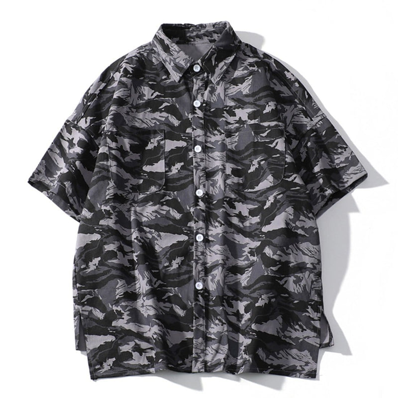 """Say"" Camo Shirt - Maener"