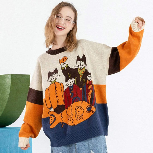 """Group Photo"" Sweater - Maener"