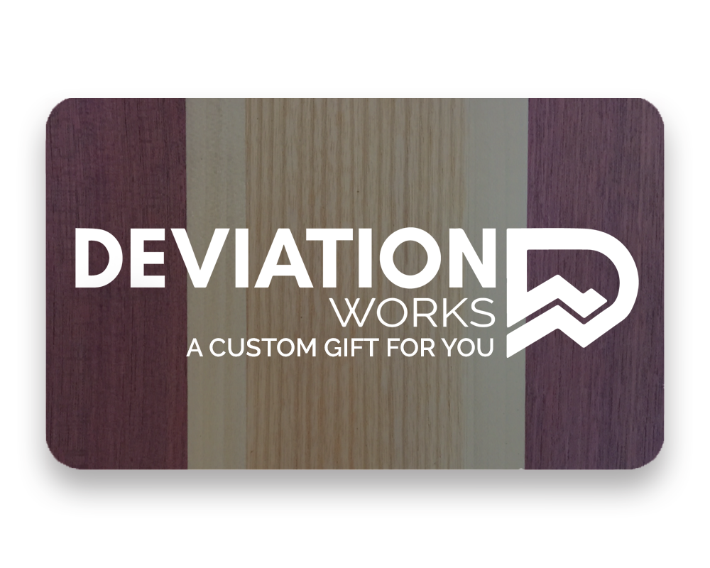 DEVIATION WORKS GIFT CARD