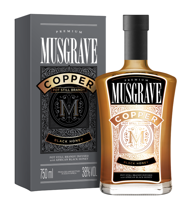 "Cape Town. South Africa.  Copper is luxurious, disruptive, infused and made to mix. It's a flavour-infused brandy with subtle flavours and a distinctly African palate.crafted to be the ""Bourbon"" of Brandy"