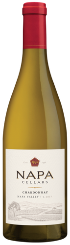 California. Aromas of baked apple, ripe Bosc pear, crème brûlée and lemon curd excite the senses. A soft mouthfeel supports flavors of green apple flavors with orange zest and almond pastry balanced with late, crisp acidity pulling together this well balanced, full-bodied Chardonnay