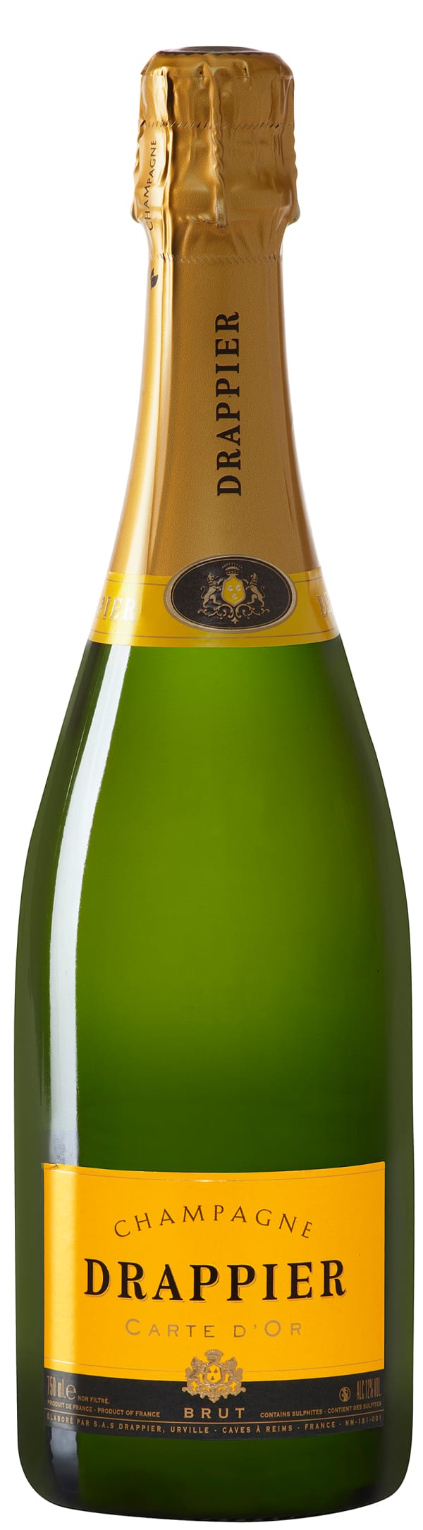 DRAPPIER CARTE D'OR Champagne 750ml