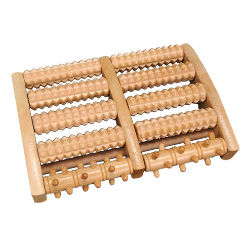Hiker's Wooden Roller Foot Massager - Fit For Trips
