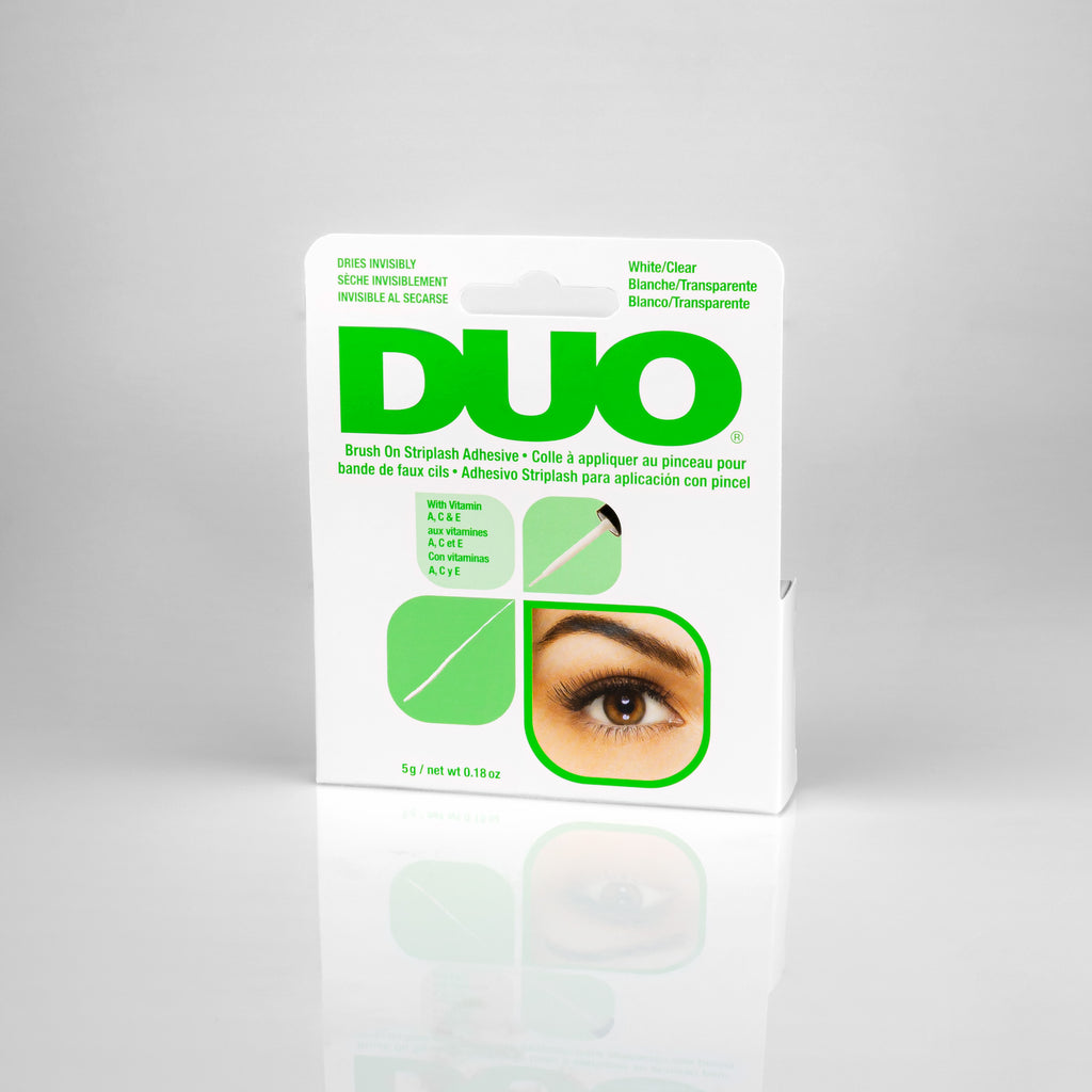 DUO Brush On Adhesive Clear with Vitamins