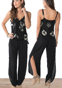 Khush Black Genie Pants