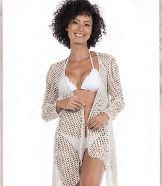 Nikita Mesh Cardigan (Assorted Colors