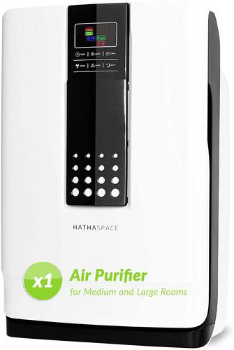 Smart True HEPA Air Purifier for Large Rooms