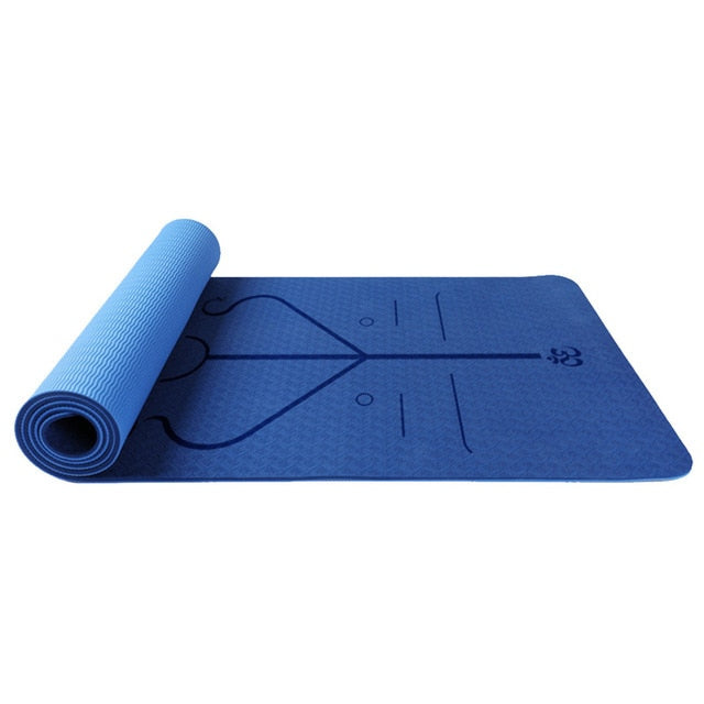The Best Non-Slip with Position Alignment Yoga Mat 2020