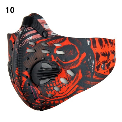 coronavirus Anti Dust Mask for Mouth  pm2.5 Dust Respirator Wholesale Breath  anti odor pollution running sports maska