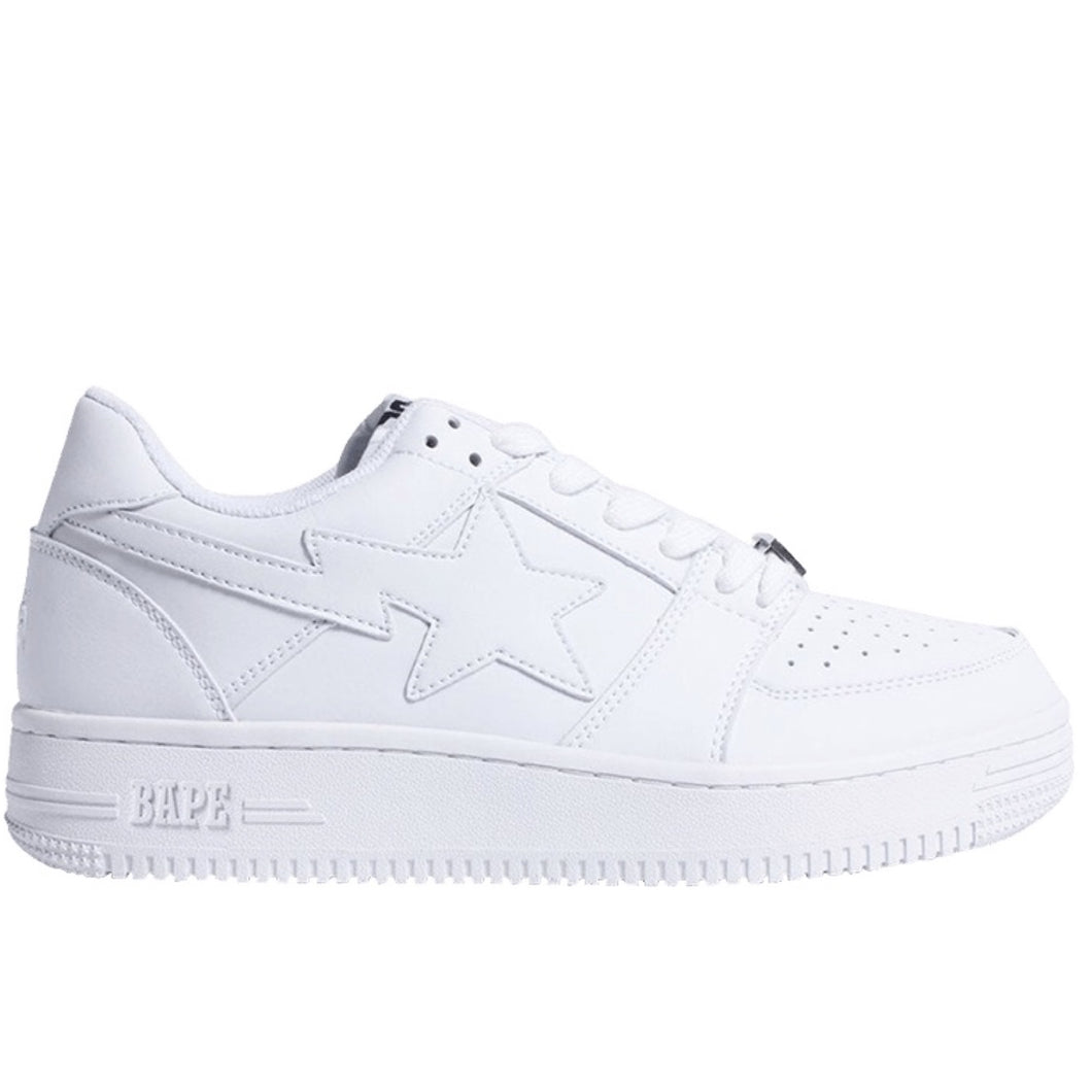 BAPE Bapesta Low - White