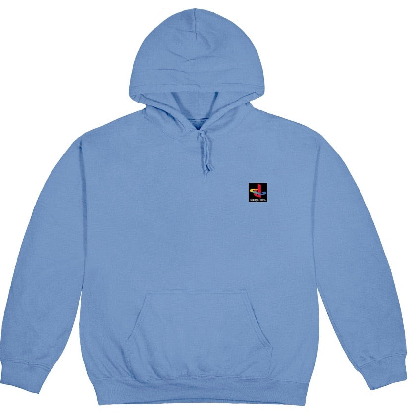 Travis Scott CJ Gamer II - Hoodie Washed Blue
