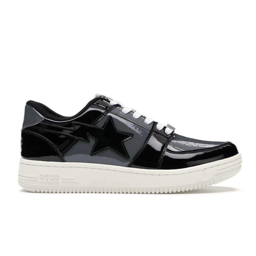 BAPE Bapesta Low - Black/Grey