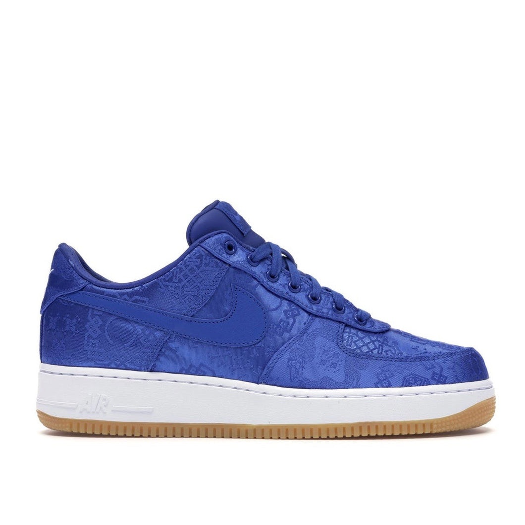 Nike x CLOT Air Force 1 - Blue Silk