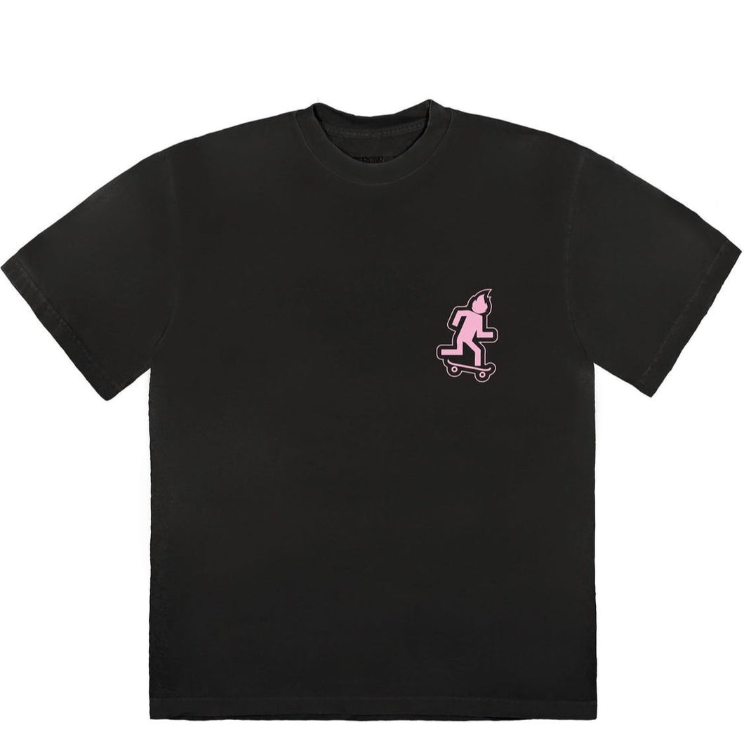 Travis Scott No Loitering Tee Black