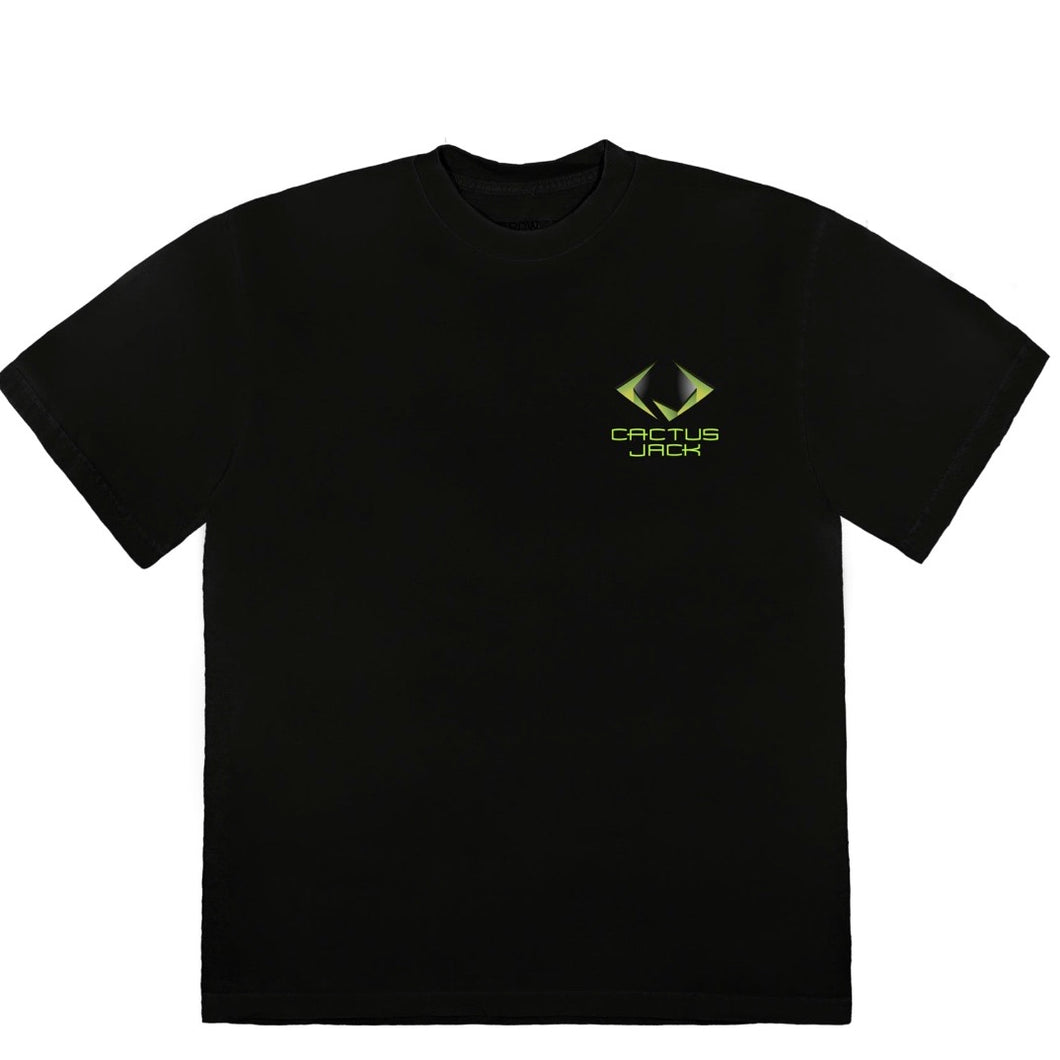 Travis Scott CJ Gamer - Tee Black