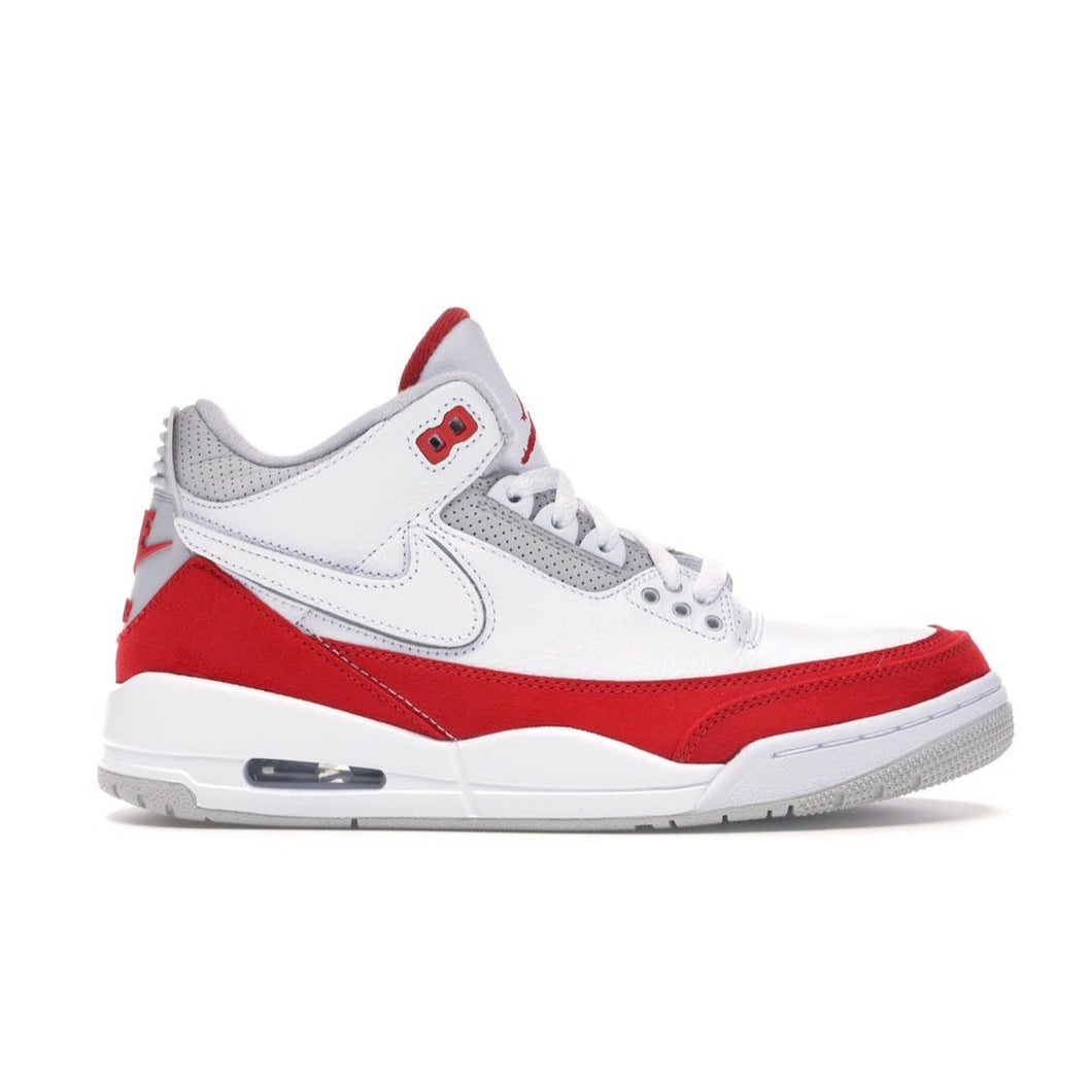 Jordan 3 Retro - Tinker White University Red