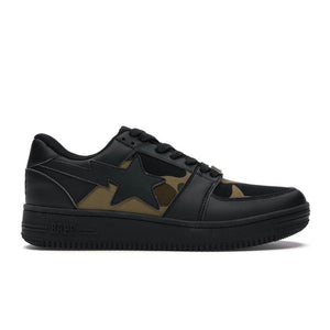 BAPE Bapesta Low - Black/Camo