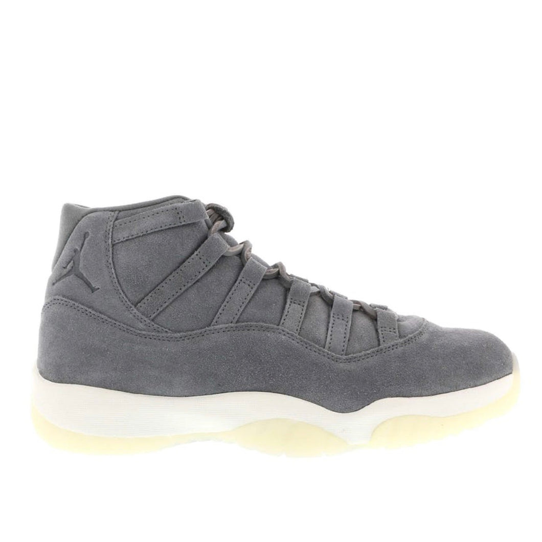 Jordan 11 Retro - Pinnacle Grey Suede