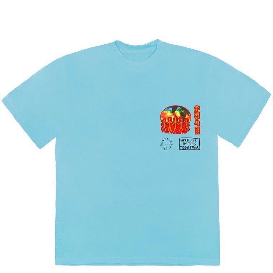 Travis Scott Cactus Jack C/O 2020 - Tee Light Blue