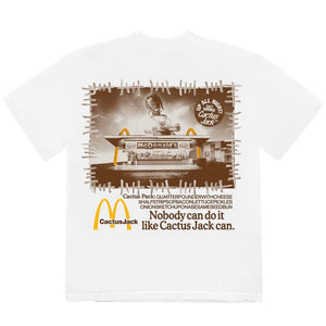 Travis Scott x McDonald's - Vintage Action Figure Tee - White