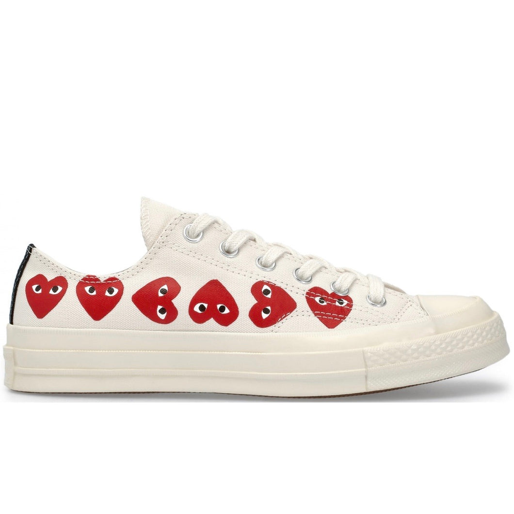 Converse Chuck Taylor All-Star - Comme des Garcons PLAY Multi-Heart White