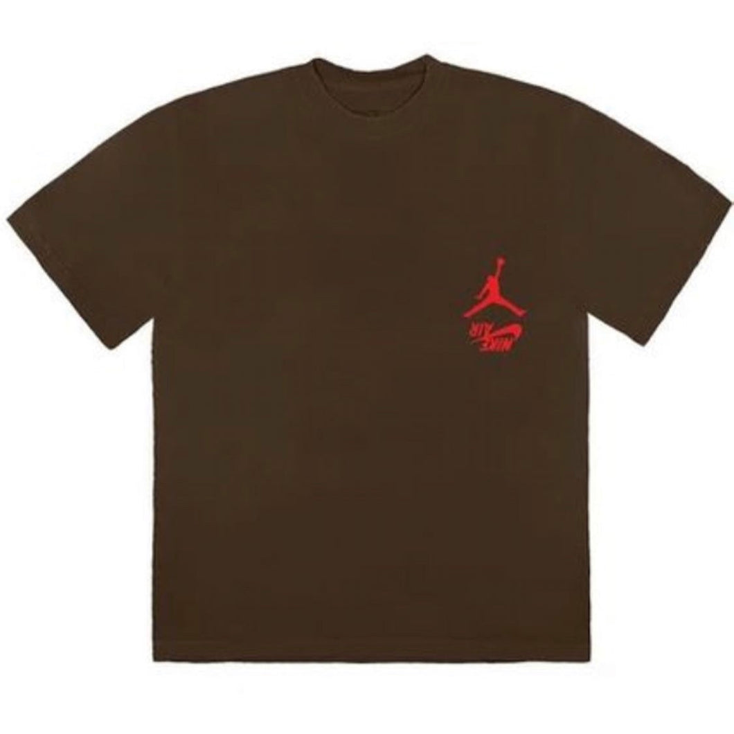 Travis Scott Jordan Cactus Jack Highest Tee - Brown