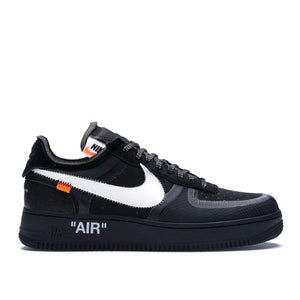 Nike x Off-White Air Force 1 Low - Black