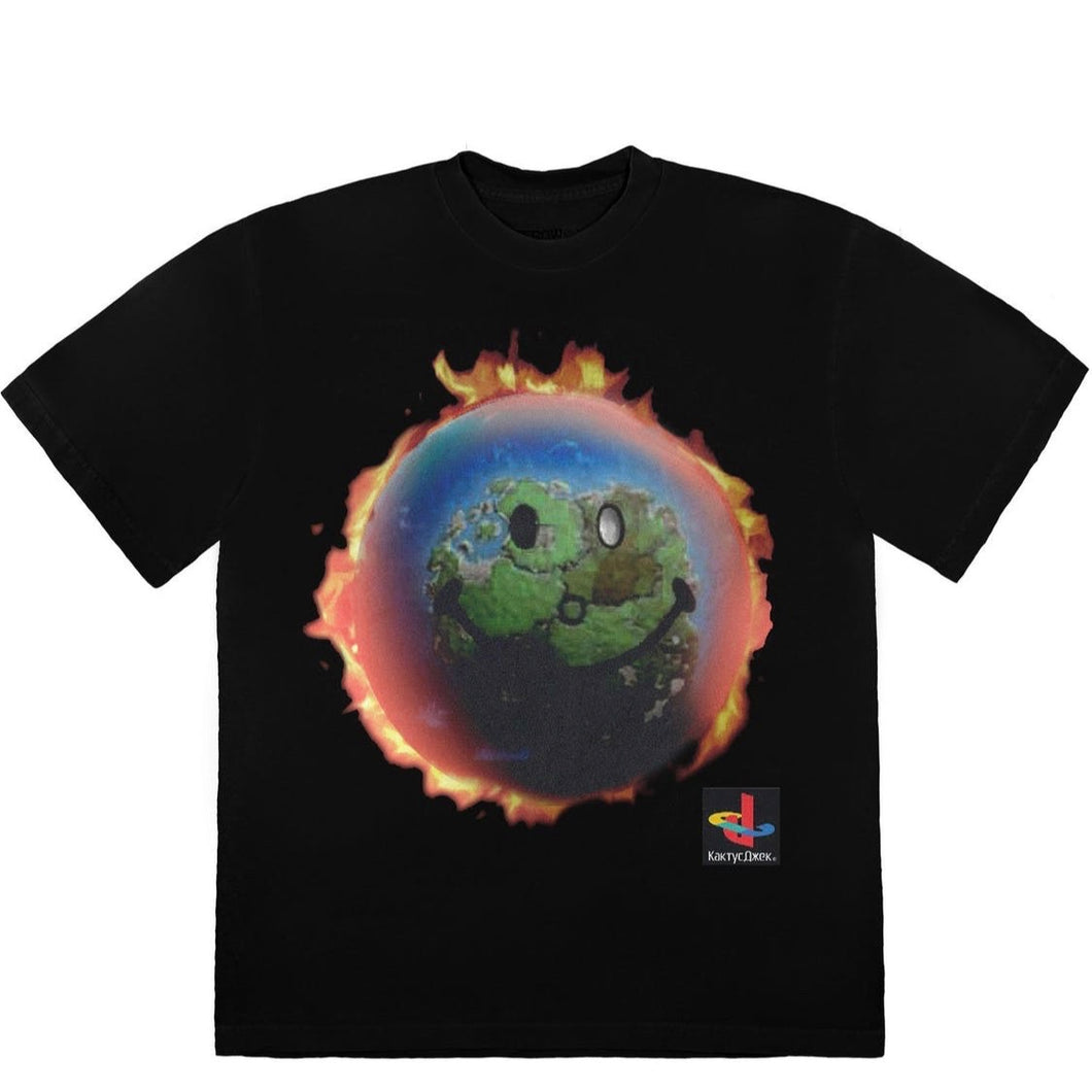 Travis Scott The Scotts World - Tee Black