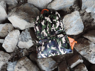 PVTSTK Premium+Goods Camouflage X Orange backpack