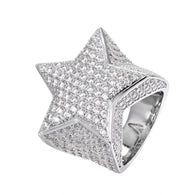 Gold HDQ Star Ring