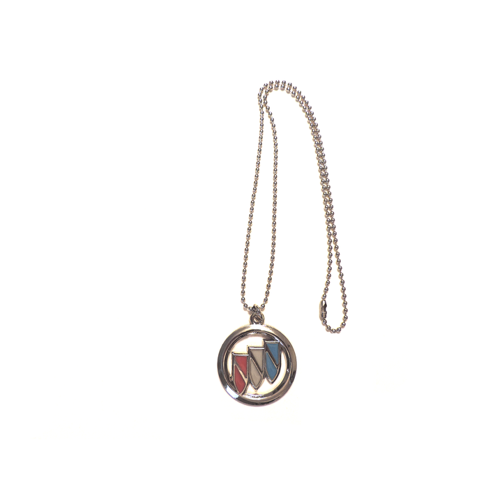 Private Label Brand Buick Pendant + 27 inch Necklace