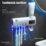 Load image into Gallery viewer, 🔥50% OFF🔥Toothbrush Sanitizer Family Case with UV Light and Toothpaste Dispenser
