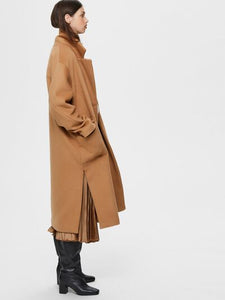 Selected Femme Double Breasted Cashmere Wool Coat Will and Ward Bestseller